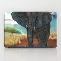 african iPad Cases featuring African Elephant by Ben Geiger