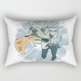 Quicksilver and Dog Rectangular Pillow