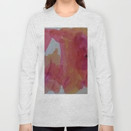 Abstract Sunset Colors Long Sleeve T-shirt