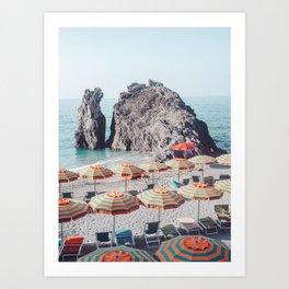 Cinque Terre Beach 1 Art Print