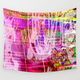 More Or Less Wall Tapestry