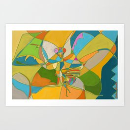 Mantis V2 Art Print