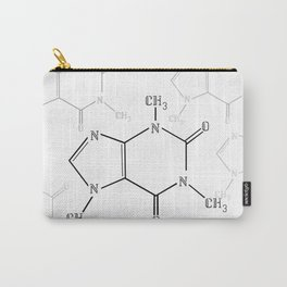 You Complete Me (Caffine Molecule) Carry-All Pouch