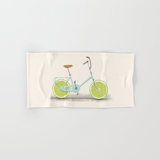 Acid (Blue) Hand & Bath Towel