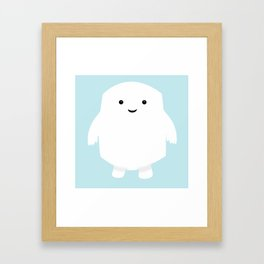 Doctor Who Adipose Framed Art Print