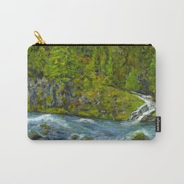 South Umpqua River, Oregon Carry-All Pouch