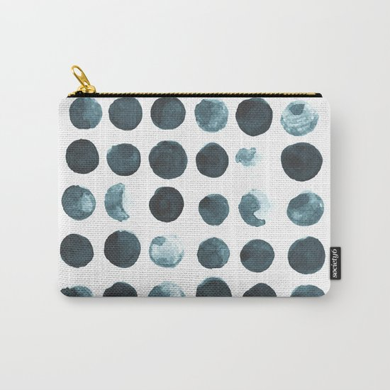 Faded dots Carry-All Pouch