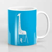 ilovedoodle Mugs featuring My playground by I Love Doodle