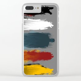 War is here Clear iPhone Case