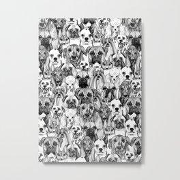 just dogs Metal Print