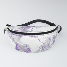 Design 142 World Map Fanny Pack