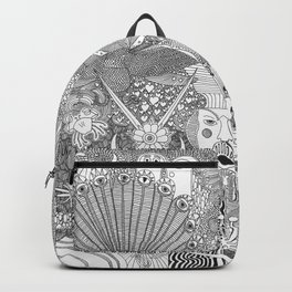 Shapes from the other side Backpack