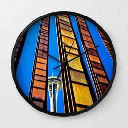 Seattle Art Wall Clock