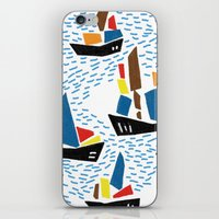 boats iPhone & iPod Skins featuring boats by frameless