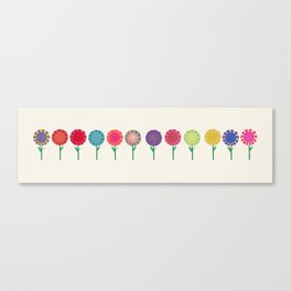 Little Maids all in a Row Canvas Print