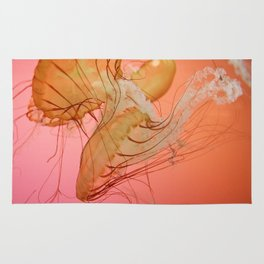 even more jellyfish Rug