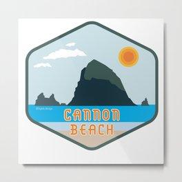 Cannon Beach Metal Print