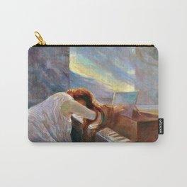 Classical Masterpiece Al piano by Lionello Balestrieri, circa 1900 Carry-All Pouch