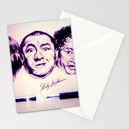 The Three Stooges Stationery Cards