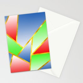 Abstract Marble-Multiple Color Stationery Cards