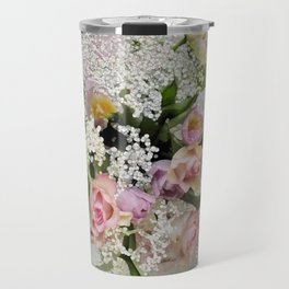 Happy Flower Explosion Travel Mug
