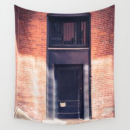 In the Door series, from my street photography collection Wall Tapestry