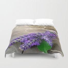 Lavender bouquet Duvet Cover