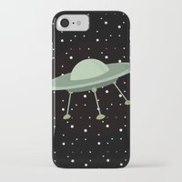 ufo iPhone & iPod Cases featuring UFO by Mr and Mrs Quirynen