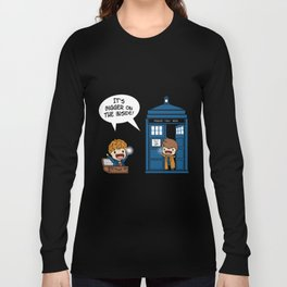 Doctor Who - It's Biggers on the inside Long Sleeve T-shirt