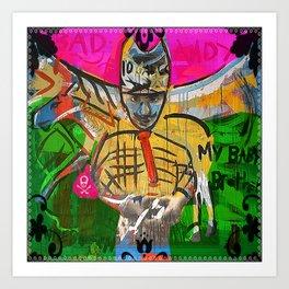 Bad Andy Art Print