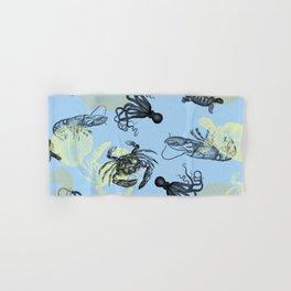 Vintage Sea Creatures Hand & Bath Towel