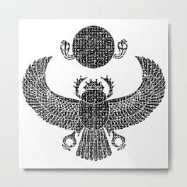 Scarab Metal Print