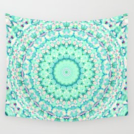 ARABESQUE SPRING MINT Wall Tapestry