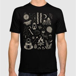 Into the Woods: Stargazing T-shirt