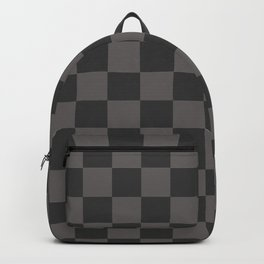 black chess - black squares Backpack