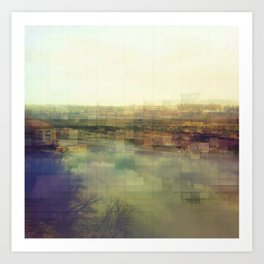 Lock & Dam No. 1 Art Print