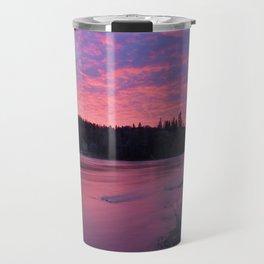 Pink Forest Travel Mug