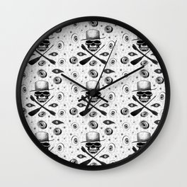 All-seeing death Wall Clock