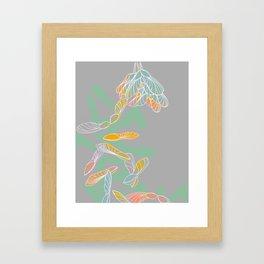 Helicoptors Framed Art Print