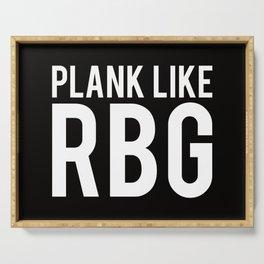 Plank like RBG Serving Tray