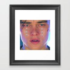 :'( Framed Art Print