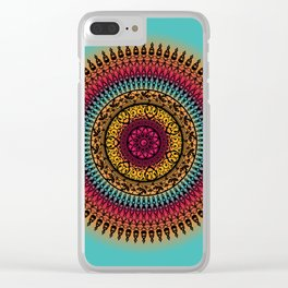 Mandala2C6 Clear iPhone Case