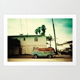 Rusty Van Art Print