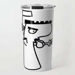 football referee Travel Mug
