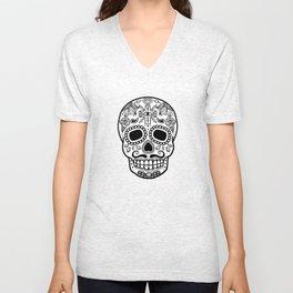 Mexican Skull - Black Edition Unisex V-Neck
