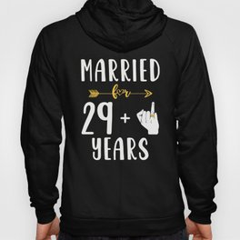 30th 30 year Wedding Anniversary Gift Married Husband Wife product Hoody