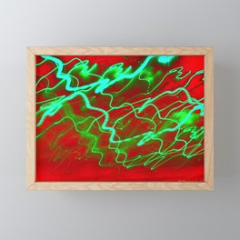 Rushing Groove Framed Mini Art Print