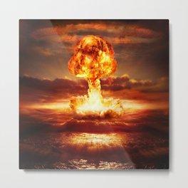 Atomic Bomb Metal Print