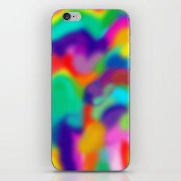 "Rainbow ""Watercolor"" iPhone Skin"