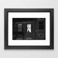 The World Outside Framed Art Print